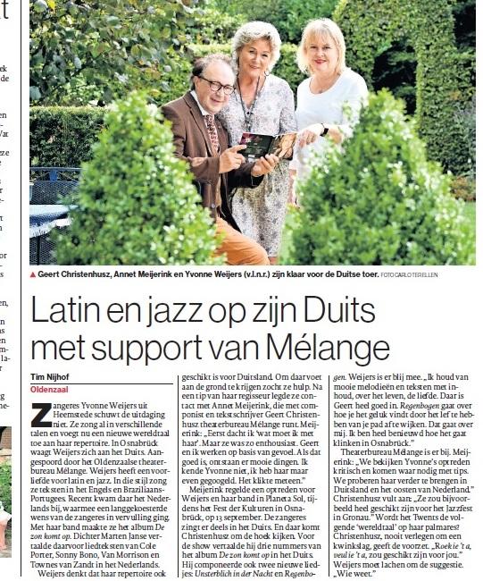Latin & Jazz op z'n Duits